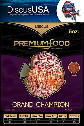Grand Champion Discus Granules 70 grams (2.5oz)